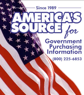 America's source for government purchasing information since 1989